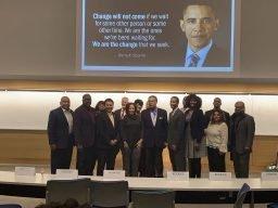 Vercie Lark, shares his vision for the Kansas City at the Kansas Black Chamber of Commerce