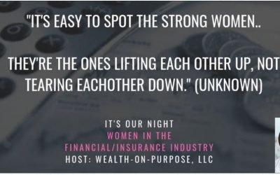 It's Our Night   Women In Financial & Insurance Industry Features Vercie Lark