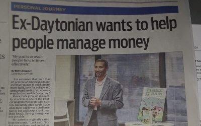 Ex-Daytonian wants to help people manage money.   Dayton Daily News